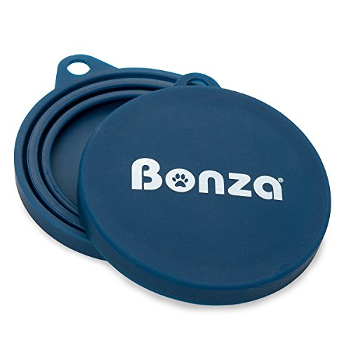 Bonza Pet Food Can Covers, Set of 2 Universal Silicone Can C
