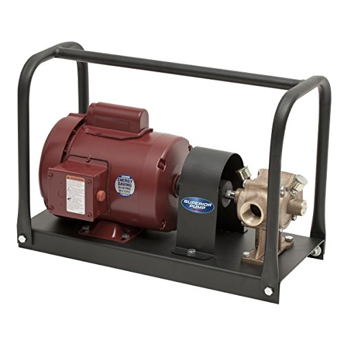 Superior Pump 90000 1/2 HP Kit with BP21X Bronze Transfer Pump, Black ()