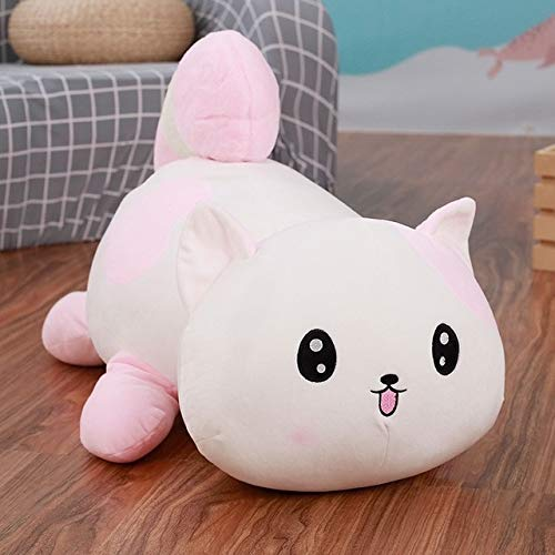 I Love T-Shirt Big Cute Plush Pillow Soft Cartoon Animal Cat Stuffed Doll Sofa Bed Cushion Toys Boyfriends Pillow Kids Birthday Gifts New Must Haves Child Boy Gifts Boys Favourite Characters by I Love T-Shirt