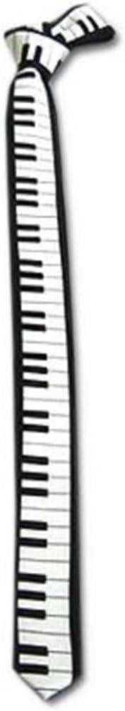 Hm teclado de Piano para hombre corbata para llave de coche de ...