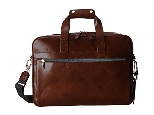 Bosca Old Leather Single Gusset Stringer Bag (Teak)