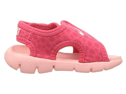 NIKE Sunray Adjust 4 (TD) Baby-Boys Slippers 386521-608_6C - Tropical Pink/Bleached Coral - Image 7