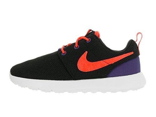 Nike, Zapatos de Primeros Pasos para Bebés, Negro (Blck / Ttl Crmsn-Dk Prpl Dst-Wht), 30 EU
