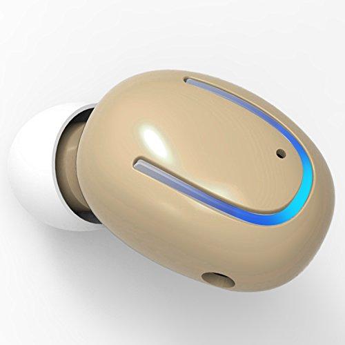 Bluetooth Headphone Wireless Earbud Mini In-Ear Earphone 6-H