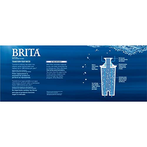 Brita 35557 Water Pitcher Replacement Filters, White-6 pk, 6ct 6ct by Brita (Image #6)