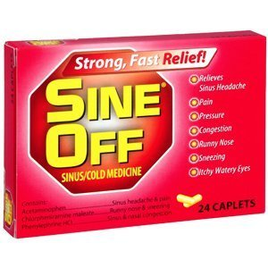 Special pack of 6 SINE OFF CAPSULES PE 24 CAPSULES by Sine-Off