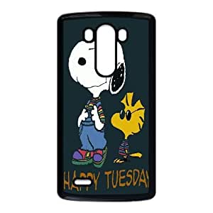 LG G3 cell phone cases Black Charlie Brown and Snoopy MN698698