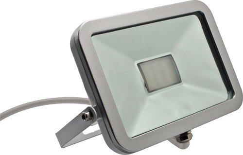 Mkc faro da esterno led 6000k ip65 slim bianco: amazon.it