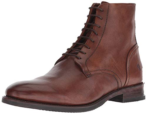 FRYE Men's Corey LACE UP Ankle Boot Cognac 11 M US ()