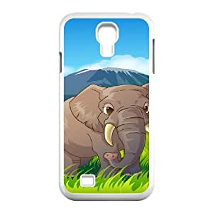 SamSung Galaxy S4 I9500 Elephant Phone Back Case Personalized Art Print Design Hard Shell Protection JK081657