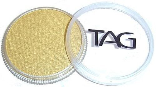 (TAG Face Paints - Pearl Gold (32 gm))