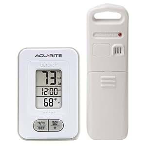 Amazon Com Acurite Wireless Indoor Outdoor Thermometer