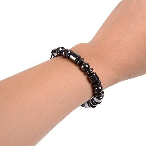 Weight Loss Bracelet, Magnetic Therapy Slimming Healthy Stone Stud Bracelet Wrist Hand Decoration Health Care by Lily-li (Image #3)