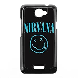 Special Design Cases HTC One X Cell Phone Case Black Nirvana Oxzdi Durable Rubber Cover
