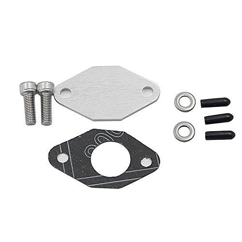 (Alpha Rider For Seadoo Oil Pump Block-Off Kit 587 657/X 717 SP GT SPI XP GTS GTX HX GTI GS GSI Silver)