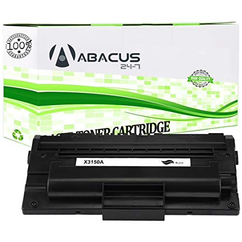 Abacus24-7 Compatible Toner Cartridge Replacement for Xerox 109R00746 Black Toner Cartridge for use with Xerox Phaser 3150/3150B Laser Printer