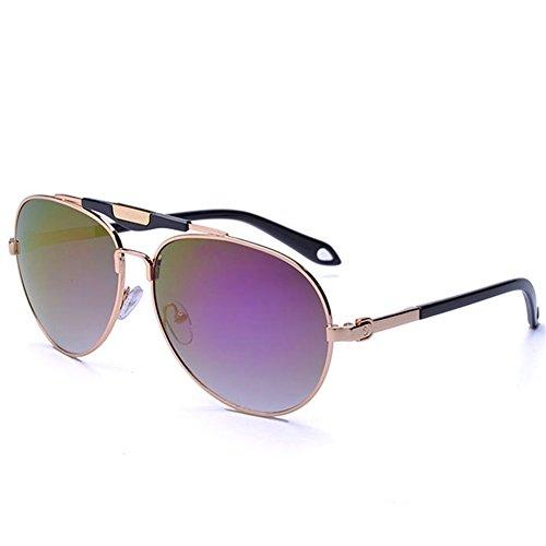 KaiSasi 2016 New Men Sunglasses Yurt Reflective Metal Double Beam Sunglasses Ms - Most The Expensive In 2016 World Sunglasses