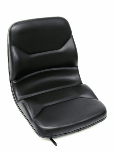 Vinyl seat perfect for forklifts, tractors, skid steers with installation rails ()