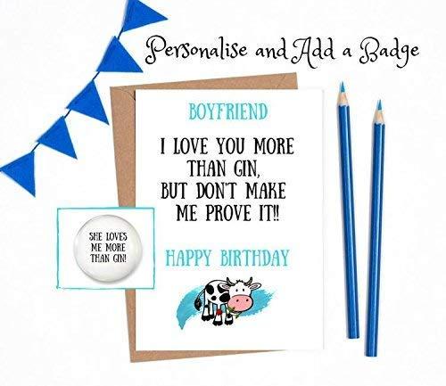 Rude Birthday Cards For Boyfriend Funny Birthday Cards Boyfriend 1