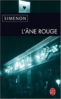 L'Ane Rouge par Simenon