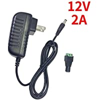 inShareplus 12V LED Strip Power Supply 2A 24W, Wall...