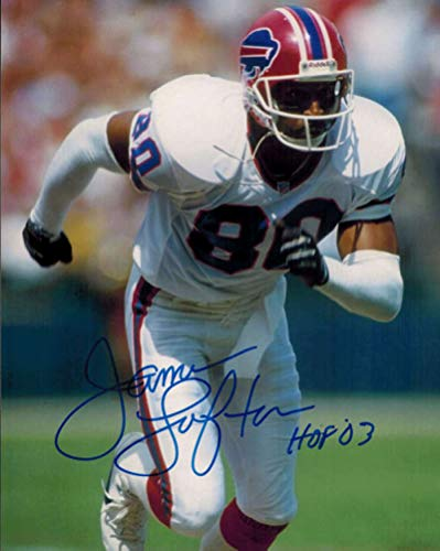 (James Lofton Autographed Buffalo Bills 8x10 Photo HOF 03)