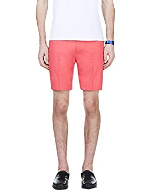 Calvin Klein Collection Coral Red Shorts