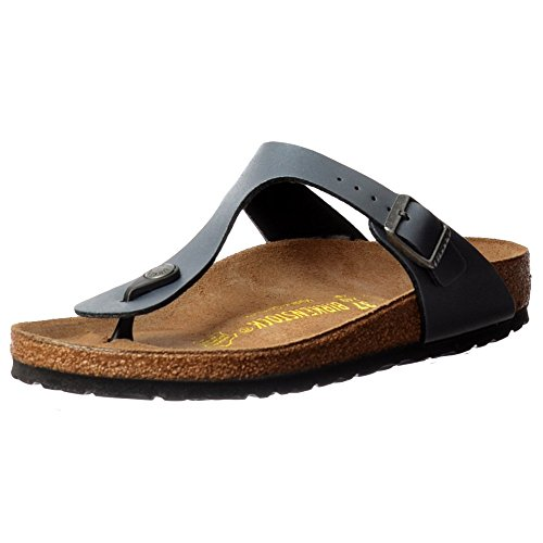 BF mujer Birkenstock GIZEH Onyx para LACK Zuecos Pearl Classic 345081 Ice pxA7wq4F