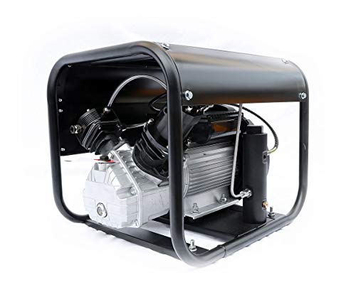 (HPDAVV Electric Air Pump for Fire Fighting and Diving,Paintball-compressor,Scuba Tank Filling,US After-Sales Service,Accessories Package,Operational Video)