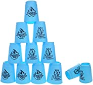 [Upgrade] Quick Stacks Cups 12 PC of Sports Stacking Cups Speed Training Game Shipping from US