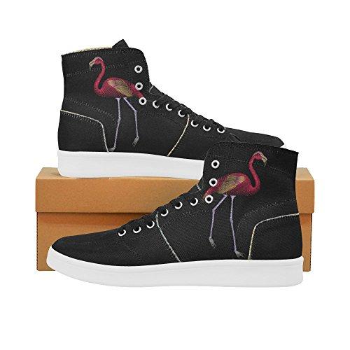 D-story Scarpe Personalizzate Grunge Usa Bandiera High Top Retro Donna Sneaker Multicoloured6