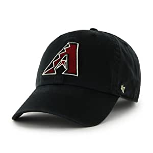MLB Arizona Diamondbacks Men's Clean Up Cap, Black