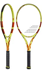 The lightest version of Rafael Nadal`s racquet of choice, The Babolat Pure Aero Lite Roland Garros Tennis Racquet gets a Roland Garros inspired paint job for the clay court season. The driving force for the Aero series is the Aeromodular beam...