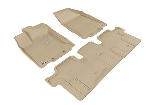 3D MAXpider Custom Fit Complete Floor Mat Set for Select Inf