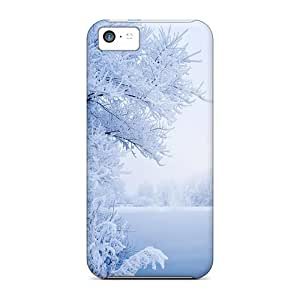 Hot Tpye The Beauty Of Winter Case Cover For Iphone 5c