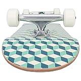 Retrospec Alameda Skateboard Complete with Abec-7