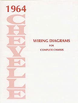 1964 chevrolet chevelle complete factory set of electrical 72 chevelle ignition wiring diagram chevelle electrical wiring diagram #13
