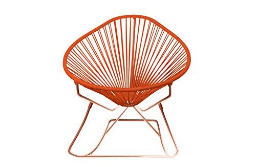 Innit Designs 03-04-10 Acapulco Rocker, Orange On Copper (Toronto Chair Frames)