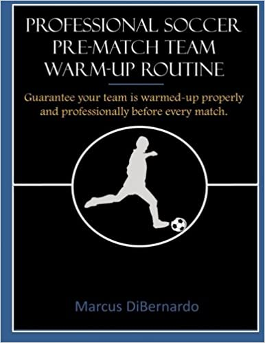Book Professional Soccer Pre-Match Team Warm-Up Routine: