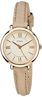 Fossil Women's ES3802 Jacqueline Small Gold-Tone Stainless Steel Watch