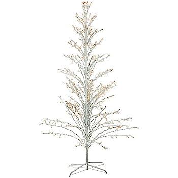 Amazon Com 6 White Lighted Christmas Cascade Twig Tree