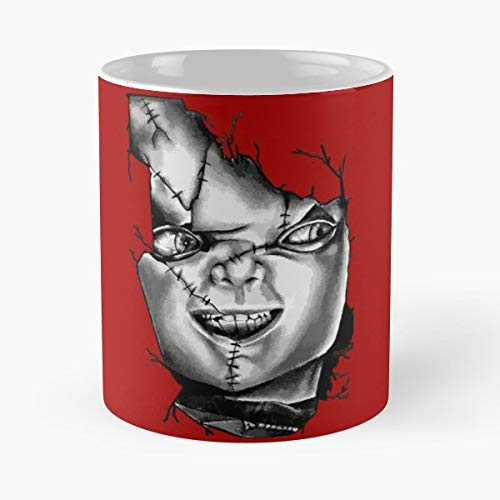 Chucky Chuckie Child Play - Coffee Mugs Best Gift Unique Ceramic Novelty Cup -