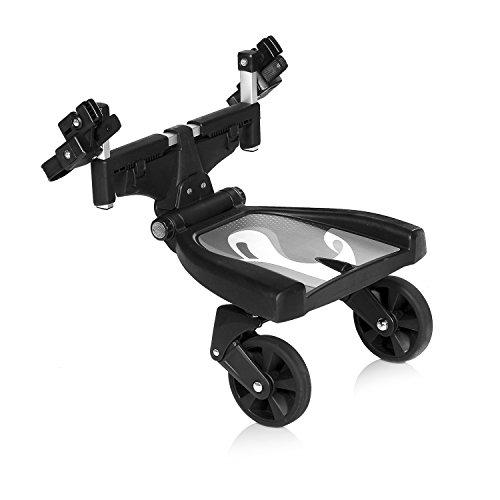 Innovaciones MS 1001 - Transportin para Acoplar a la Silla de Paseo, 31 x 34 x 34 cm, Negro