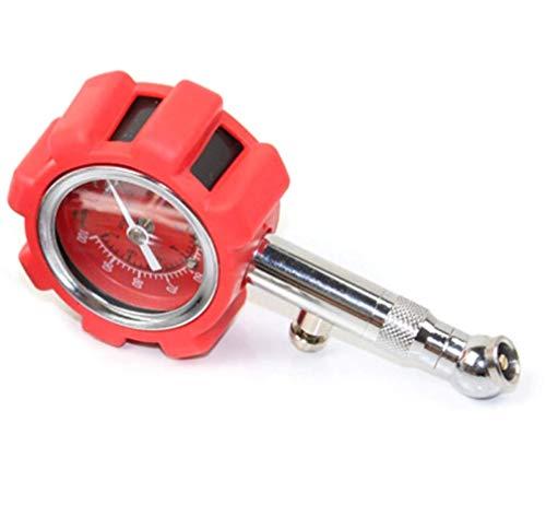 Hycy Digital Car Tire Pressure Gauge Manometer Tester LCD PSI KPA BAR High Precision Pneumatic Meter for Car Truck Motorcycle Bike,Red