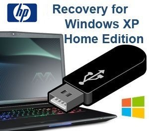HP Recovery USB for Windows XP Home Edition PC Computer Laptop