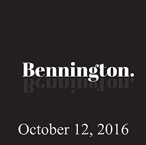 Bennington, Ari Shaffir, October 12, 2016 Radio/TV Program