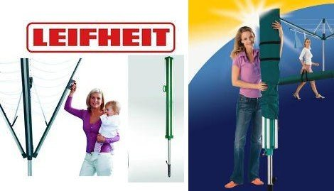 1.Wahl Leifheit Wäschespinne Linomatic 600 Plus + Schutzhülle
