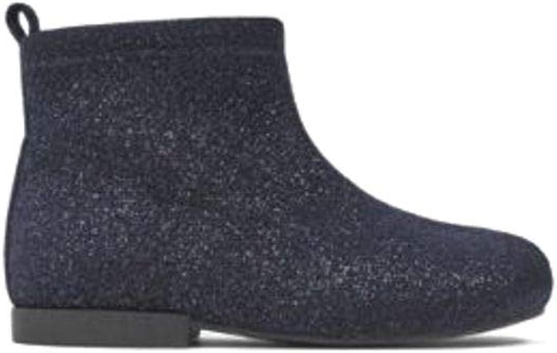 Zara Girl Black Ankle Boots Sock Style