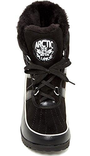 Arctic Plunge Femmes Eliora Boot Noir-noir