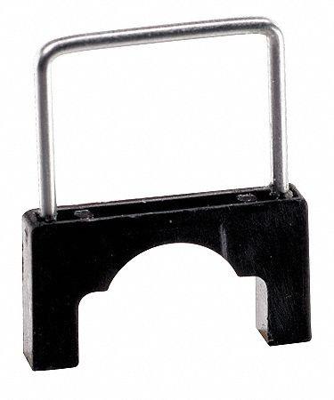 Cable Staple,1/2In,Plastic,Pk200